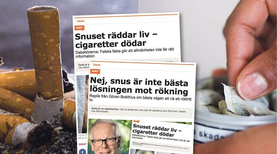 Rauchen aufhoren mit snus